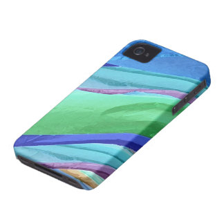 Pastel Silks Abstract iPhone4 Case