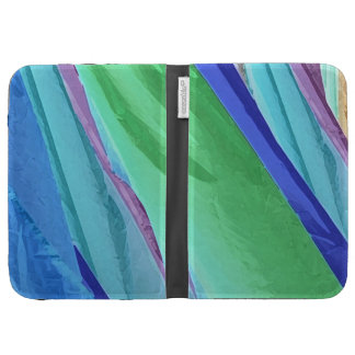 Pastel Silks Abstract Kindle Case