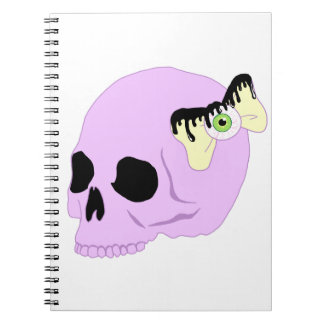 Pastel Skull Notebook