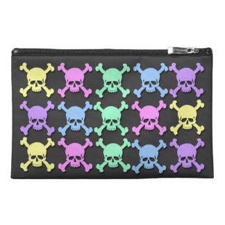 Pastel Skull Pattern  Travel Accessory Bag