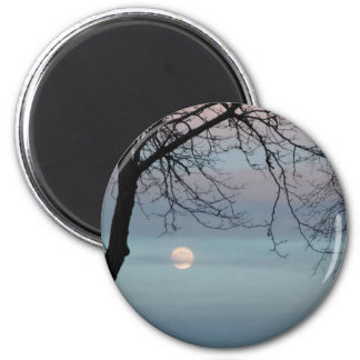 Pastel Sky 2 Inch Round Magnet