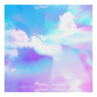 Pastel Sky Prism Panel Wall Art