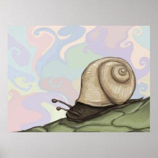 pastel slug poster