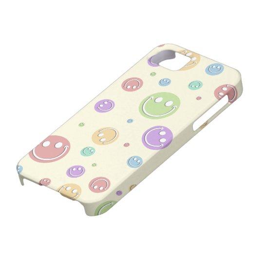Pastel Smiley Polka Dots iPhone SE/5/5s Case