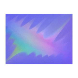Pastel Spikes Canvas Print