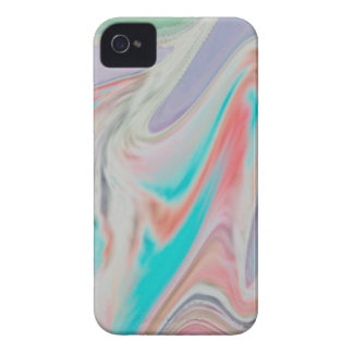 Pastel Spring Dye Swirls iPhone 4 Cover