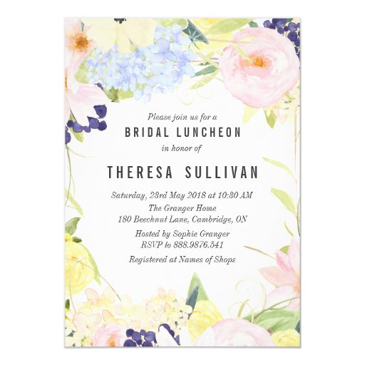 Brunch Bridal Shower Invitations is best invitations template