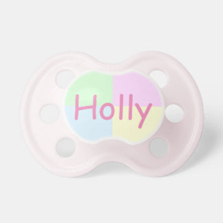 Pastel Squares BooginHead Pacifier