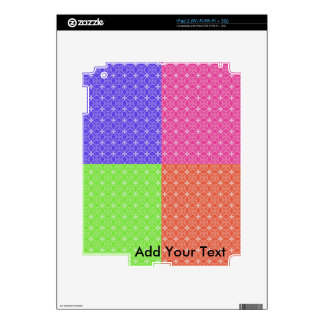 Pastel Squares iPad 2 Skins
