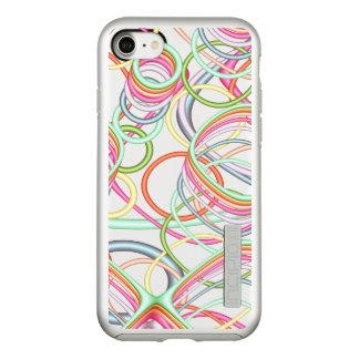 Pastel Squiggles Fractal Incipio DualPro Shine iPhone 8/7 Case