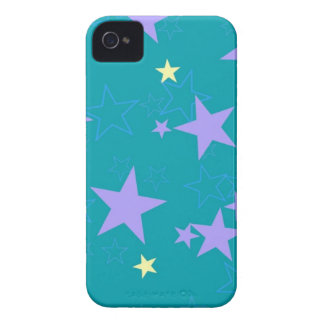 Pastel Star Cover iPhone 4 Case-Mate Case