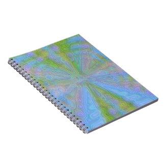 Pastel Star Journal Notebook