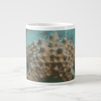 pastel starfish skeleton teal and black.jpg giant coffee mug