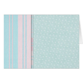 Pastel Stars and Stripes Card