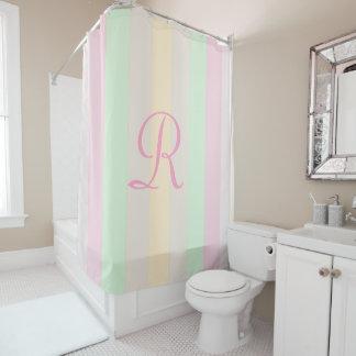 Pastel Pink Shower Curtains Zazzle - Pale pink shower curtain