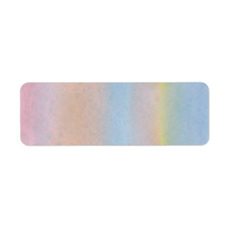 Pastel Stripes. Label
