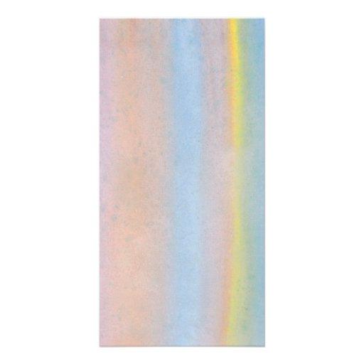 Pastel Stripes. Photo Card