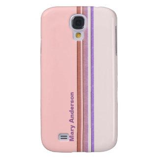 pastel stripes samsung s4 case