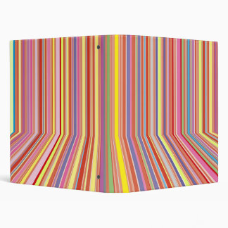 Pastel Strips Binder