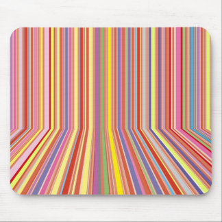 Pastel Strips Mouse Pad