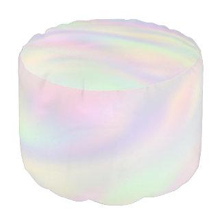 Pastel suave de las ondas coloreado + sus ideas puf redondo