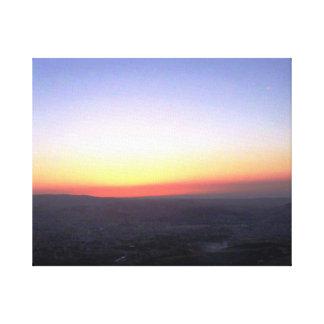 Pastel Sunset Canvas Print