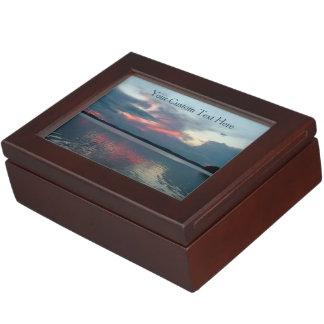 Pastel Sunset custom keepsake box