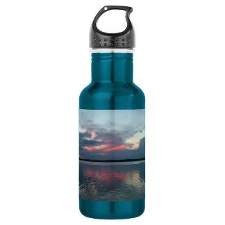 Pastel Sunset custom Stainless Steel Water Bottle