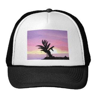 Pastel Sunset Painting Trucker Hat