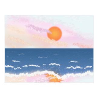 Pastel Sunset Postcard