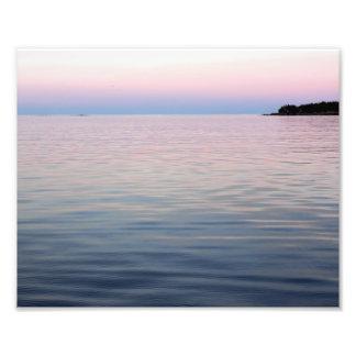 Pastel Sunset Print Photo Print