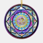Pastel Surprise Mandala Ornament
