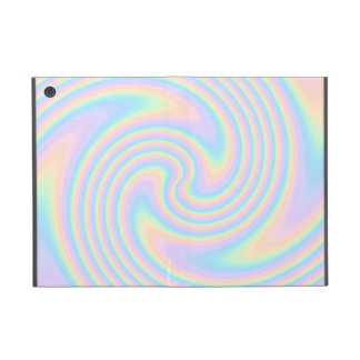 Pastel Swirl Twist Design. Cover For iPad Mini