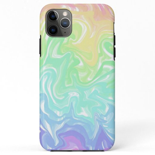 Pastel Swirls Design iPhone 11 Pro Max Case