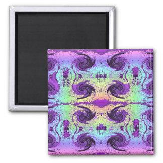 pastel swirls magnet