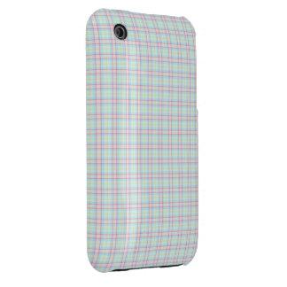 Pastel Tartan iPhone 3 Case-Mate Case