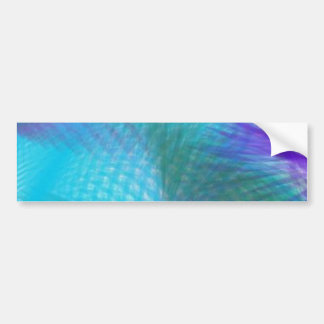 Pastel Teal Blue Violet Sweet Dream Abstract Bumper Sticker