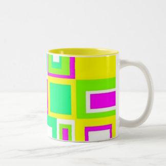 Pastel Tile mug