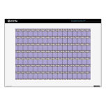 Pastel Tiles Decals For Laptops