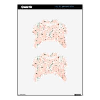Pastel Tone Elephants Stars Pattern Xbox 360 Controller Skin