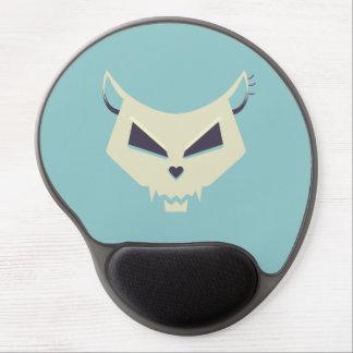 Pastel Tones Evil Cat Skull Gel Mouse Pad