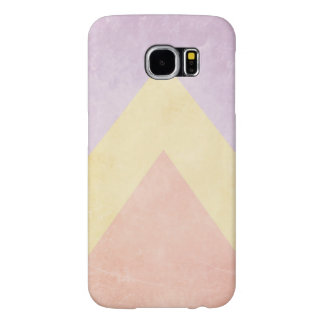 Pastel triangle pattern samsung galaxy s6 cases