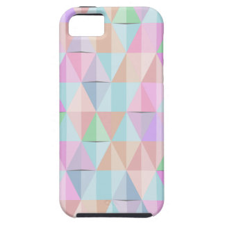 Pastel Triangles iPhone SE/5/5s Case