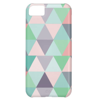 Pastel Triangles Modern iPhone cover iPhone 5C Cover