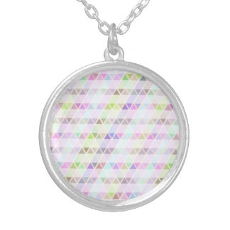 Pastel Triangles Necklace