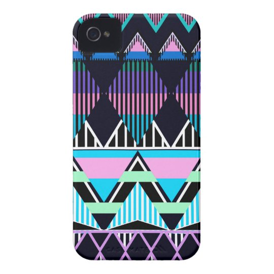 Pastel Tribal inspired iPhone 4 Cover