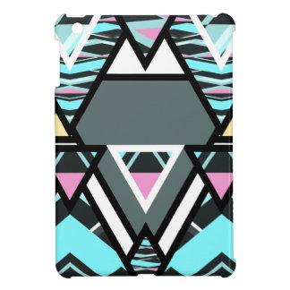 Pastel tribal intrépido iPad mini cárcasa