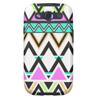 Pastel Tribal Pattern Galaxy SIII Cases