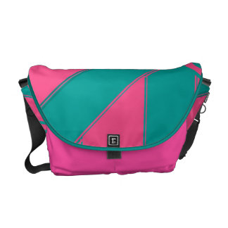Pastel Tropics Courier Bag