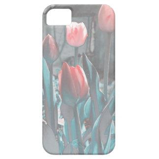 Pastel tulips iPhone 5 case